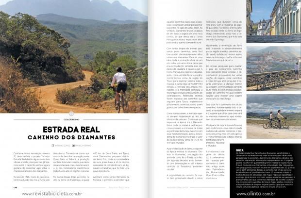 Guia Estrada Real Caminho dos Diamantes; estrada real de bike; estrada real a pé