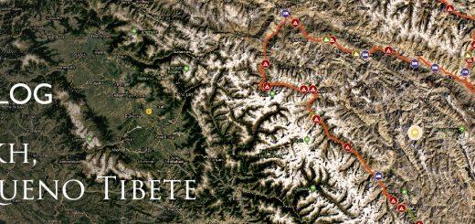 tracklog da viagem de bicicleta pelo himalaia